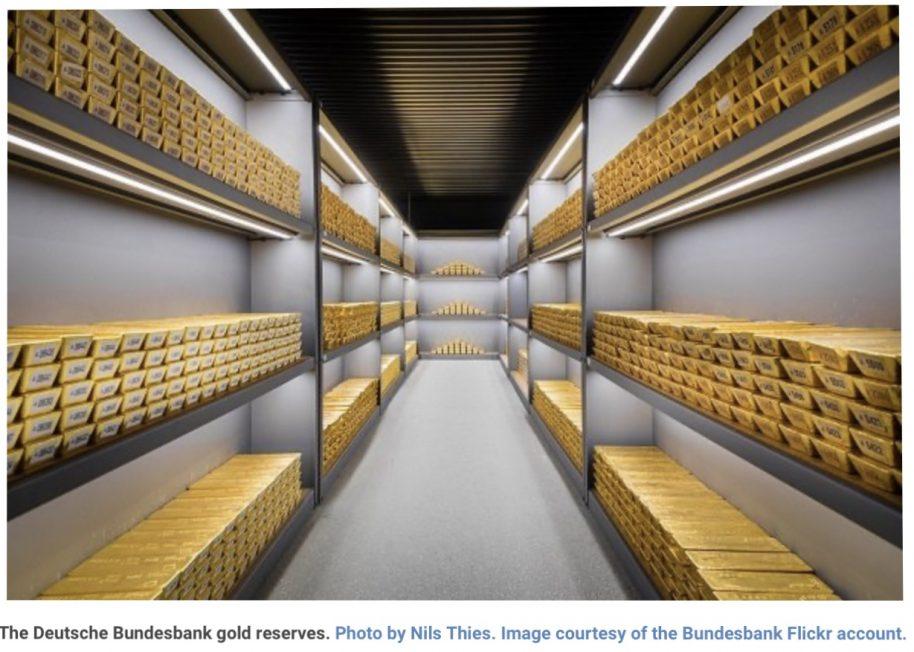 Central Banks Worldwide Gold Reserves