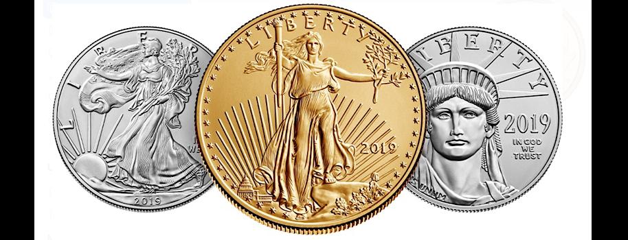 U.S. Mint 2020 American Eagle Gold, Silver, Platinum, Palladium Sales