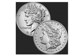 Announcing! 2021 Morgan & Peace Silver Dollars