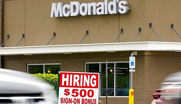 $500 Sign Up Bonus at McDonalds…. Do What?